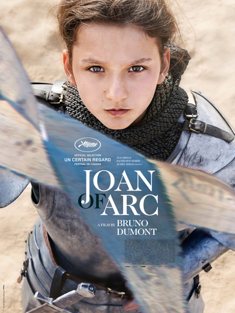 """Joan of Arc""Bruno Dumont ポスター"