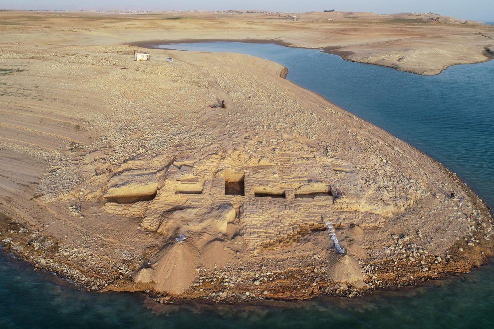 発見されたミタンニ王国ケムネ宮殿遺跡