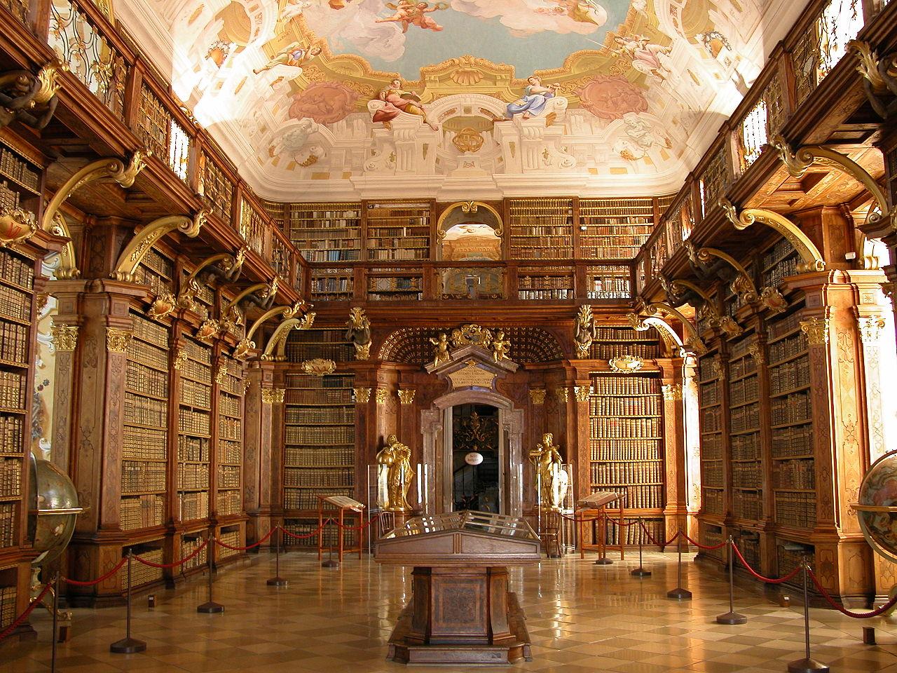 メルク修道院図書室