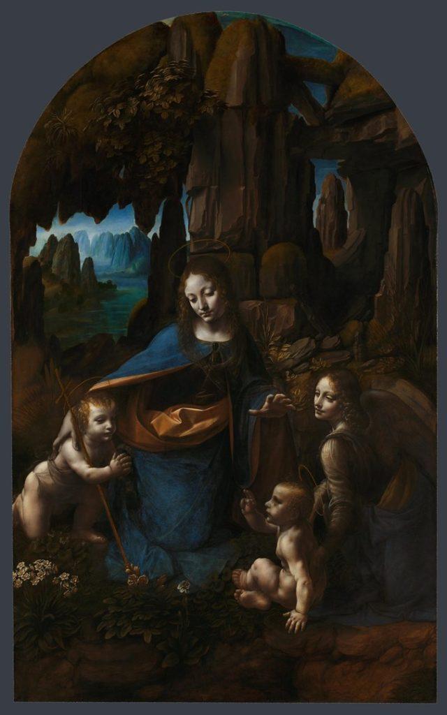 「岩窟の聖母」(ナショナル・ギャラリー収蔵) © National Gallery.London