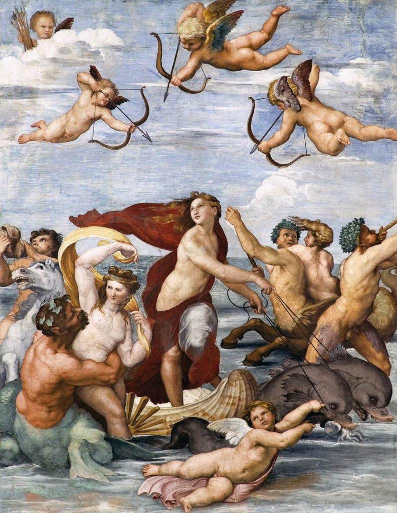 ラファエロ「ガラテアの凱旋」