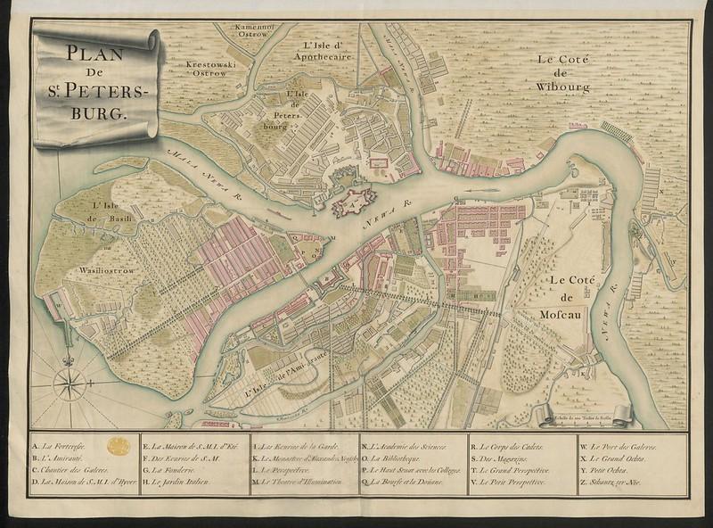 """""""Plan de St. Peters-burg.""""  / Maps K.Top.112.75."""
